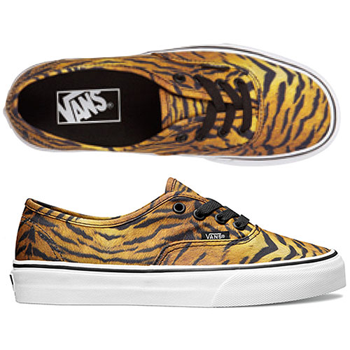 a047db0348 VANS vans sneakers CLASSICS AUTHENTIC authentic (TIGER) BROWN TRUE WHITE  (VN-0TSV8VF FW13)