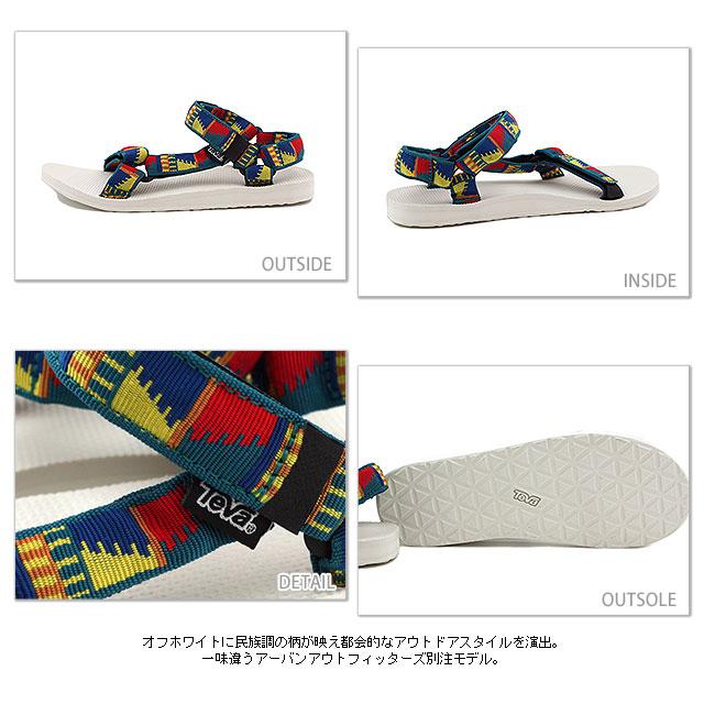 Teva × 城市 Outfiters Teva x 城市户外凉鞋男装 UOTL (1004010)