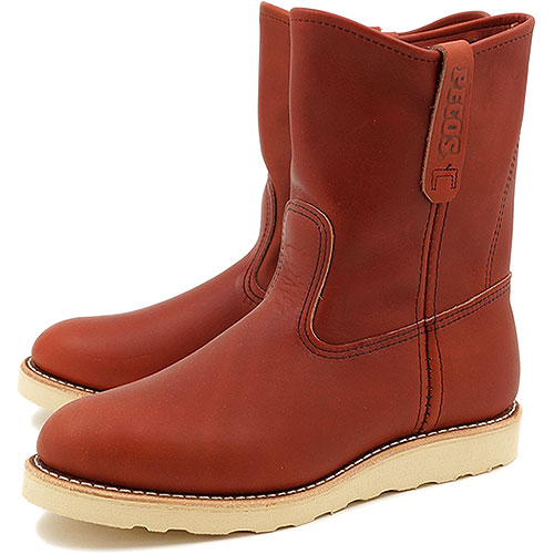"""【返品サイズ交換可】レッドウィング 9インチ ペコスブーツ REDWING 8866 9"""" PECOS ORO-RUSSET PORTAGE 靴"""