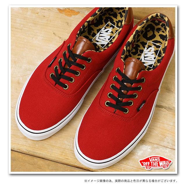 3482de12e1b5d0 59 59 (C L) VANS vans sneakers CLASSICS ERA gills RED LEOPARD (VN-0UC68II  FW13)