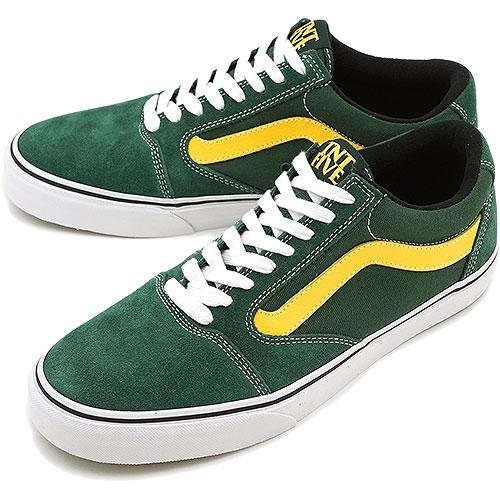 VANS vans sneakers TNT 5 OAK GREEN/YELLOW ( VN-0L2ZY8JFW13 ) fs3gm