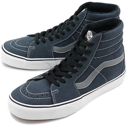 cb1e8334fef4 VANS vans sneakers CLASSICS SK8-HI スケートハイ ( SUEDE ) OMBRE BLUE SMOKED PEARL  ( VN-0TS98TN FW13 )