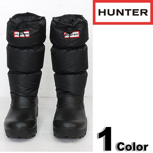 5987a361bcc5 HUNTER hunter rain boots Original Snow Quilt original Snow kilt rubber shoes  BLK (HUW24652 FW13) fs3gm