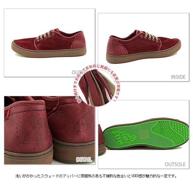 ■■SATORISAN satorisansunika P16 SUEDE韋德鞋ROSEWOOD(FW13)