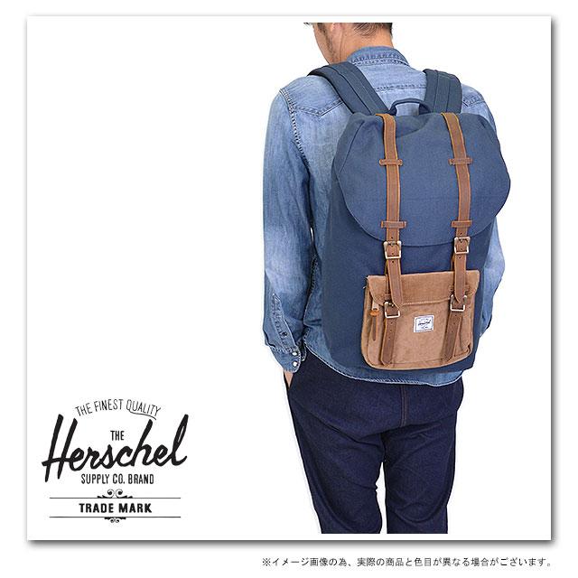 d1bf9925c701 Herschel Supply Hershel supply bag Little America Little America backpack ( rucksack day pack) Navy Cord (10014-00178-OS FW13) fs3gm