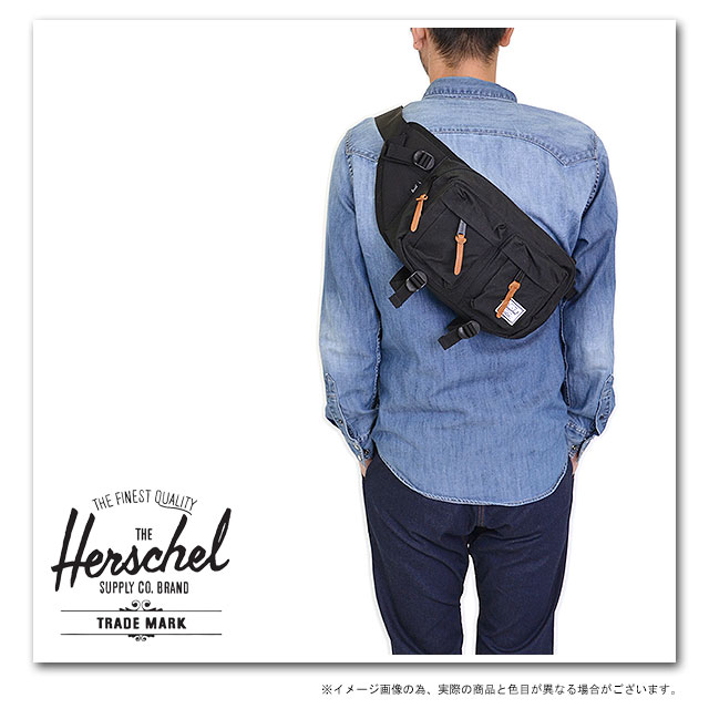 Herschel Supply赫謝供給包Eighteen十八腰身包(斜肩膀)Black(10018-00001-OS FW13)