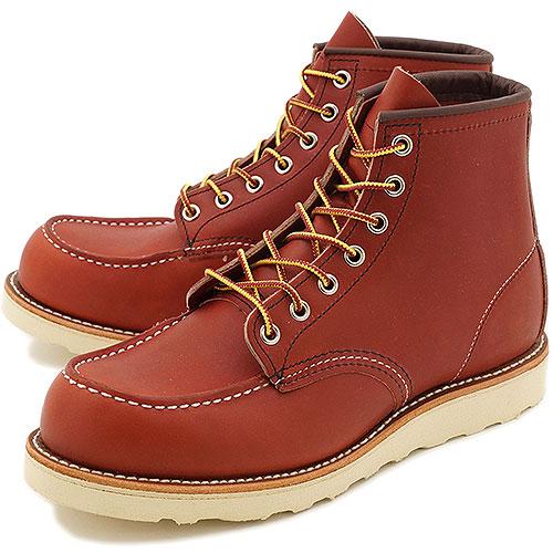 【返品サイズ交換可】レッドウィング クラシック ワークブーツ アイリッシュセッター 6インチ モックトゥ REDWING 8875 CLASSIC WORK BOOTS 靴【コンビニ受取対応商品】