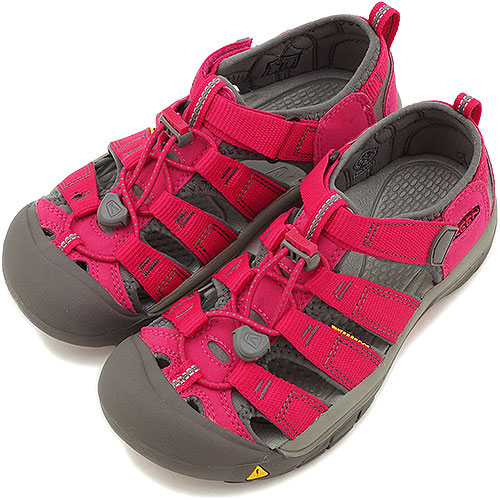 cc72bbb2488c KEEN Kean sandal YOUTH Newport H2 water shoes Newport H2 use (junior miss)  Rose Red Gargoyle (1009970 SS14)