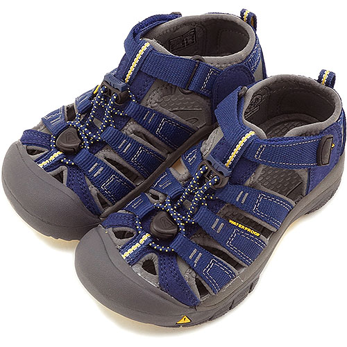 KEEN Kean sandal TODDLER Newport H2 water shoes Newport H2 toddler (kids  size) Blue Depths Gargoyle (1009938 SS14)