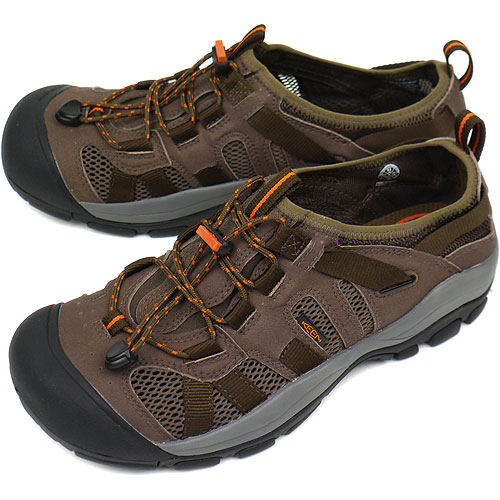 acd97464257c KEEN keen MENS McKenzie sports Sandals sneakers McKenzie men s Dark  Earth Burnt Orange (1002157 SS12)