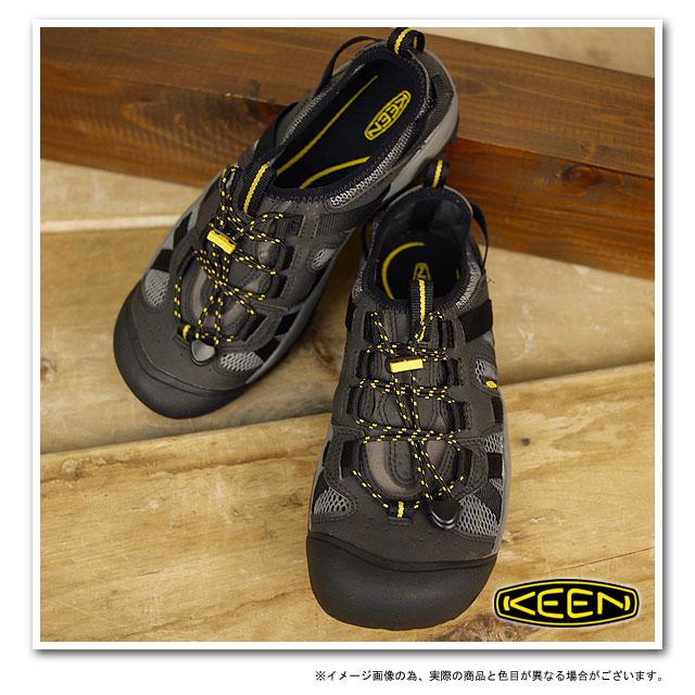 b3c553c4ad14 KEEN Kean MENS McKenzie sports sandals sneakers Mackenzie men  Black Gargoyle (1002156)