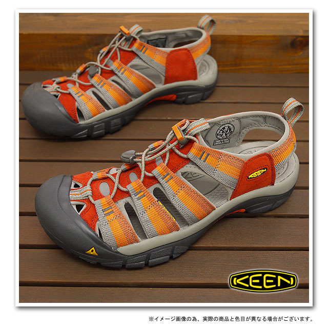 KEEN Kean MENS Newport H2 sports sandals Newport H2 men Burnt Henna Stripe (1001903 SS12) fs3gm