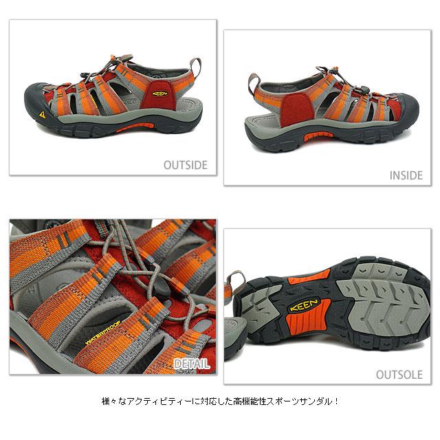 KEEN Kean MENS Newport H2 sports sandals Newport H2 men Burnt Henna Stripe (1001903 SS12) fs3gm
