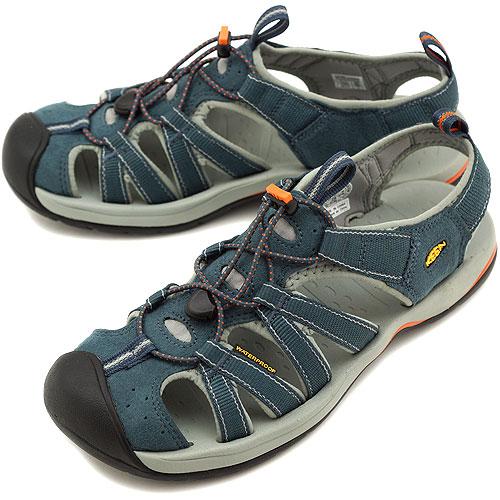 KEEN Kean MENS Kanyon sports sandals canyon men Midnight Navy/Burnt Orange  (1002138-MNBO SS12)