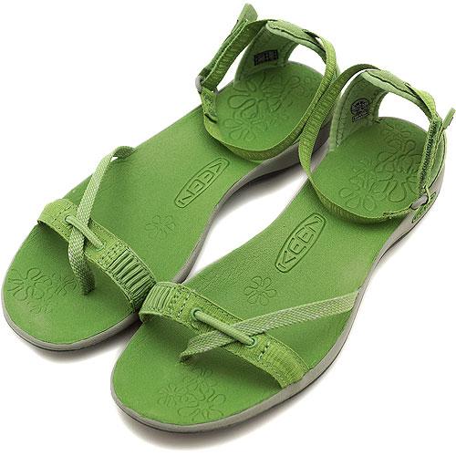 0c5b8bc4fa65 KEEN Kean WMNS LaPaz Wrap strap sandal La Paz warp women Jade Green Drizzle  (1003825 SS12)