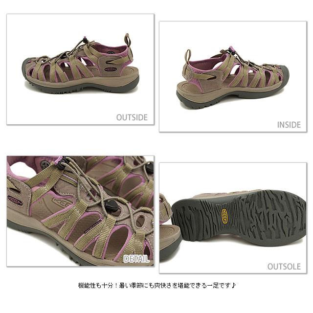 87cbe81c4b8d79 KEEN Kean WMNS Whisper sports sandal we spar women Brindle Regal Orchid (1003711)