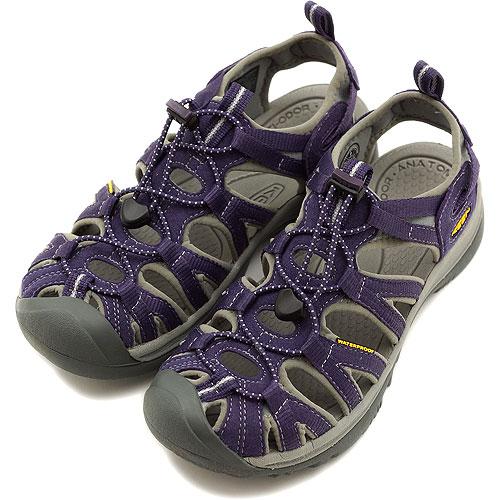 09dcfda3176a KEEN keen WMNS Whisper Sport Sandals whisper women s Sweet Grape Neutral  Gray ( 1003726 ) fs3gm