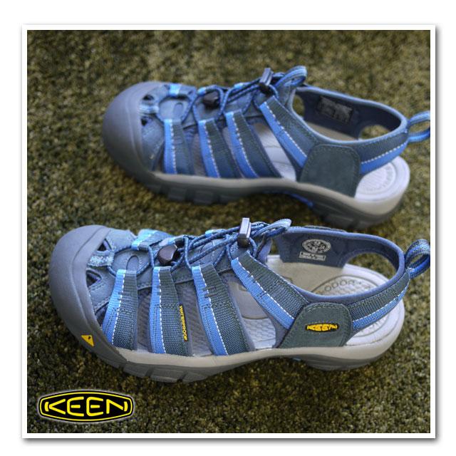 男子的KEEN基恩Newport H2 MNS体育活动拖鞋纽波特H2 Midnight Navy/Daphne(1001934 SS11)fs3gm