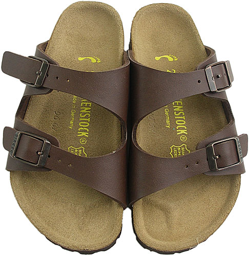 BIRKENSTOCK-Birkenstock NEVADA Sandals Nevada Brown ( 049703-KIDS ) fs3gm