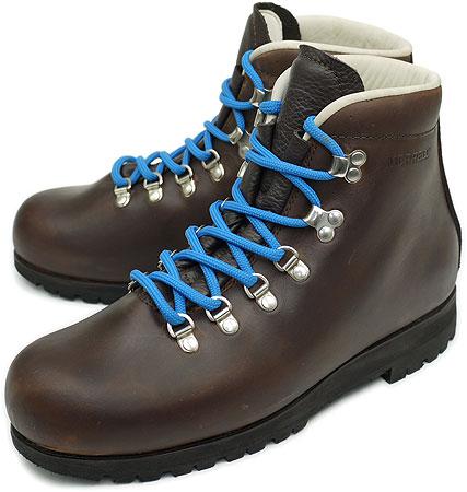 MERRELL メレル トレッキングシューズ スニーカー 靴 LEATHER レザー BROWN/MOGANO[1027 OV]【e】