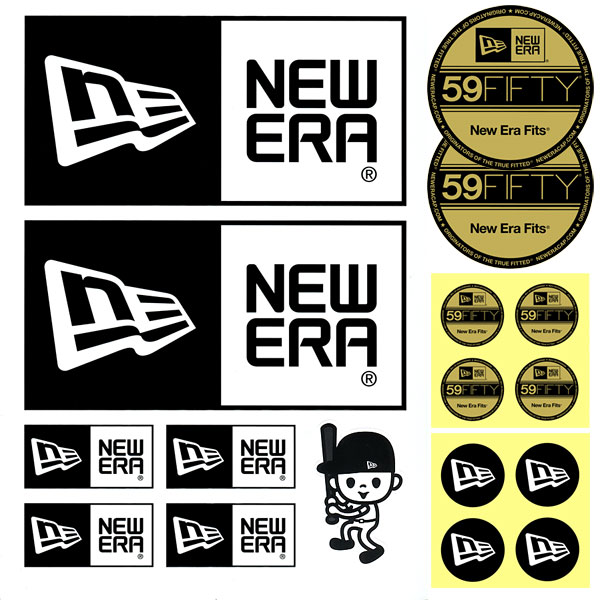 Newera new era newera sticker pack sticker pack sticker pack sc n0001520 new era
