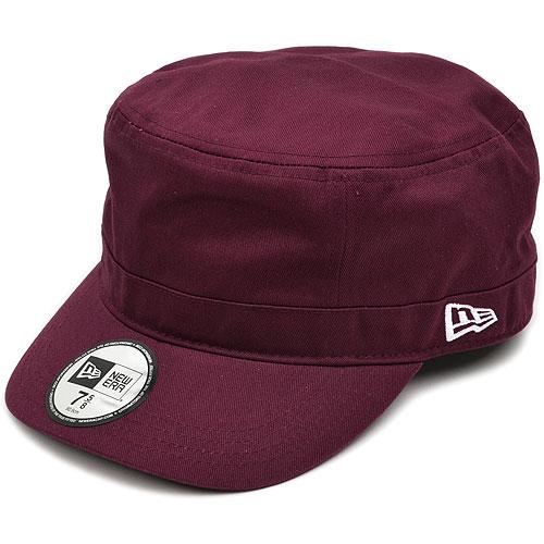 It is fs3gm NEWERA new era cap CAP WM-01 military work cap Marron / white (N0005701) (NEW ERA) (nu - gills)