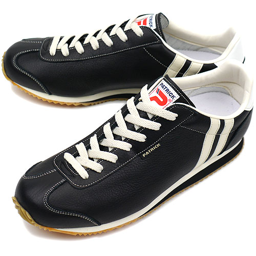 【返品送料無料】【定番モデル】パトリック PATRICK スニーカー NEVADA ネバダ メンズ レディース 日本製 靴 BLACK ブラック 黒 [17511]