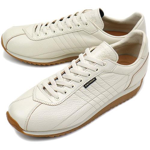 【返品送料無料】【定番モデル】パトリック PATRICK スニーカー SANGER サンガー メンズ レディース 日本製 靴 WHITE ホワイト [21330]