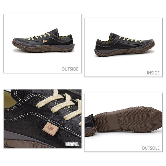 [Made in Japan] SPINGLE MOVE athleisure shoes SPM-110 Black