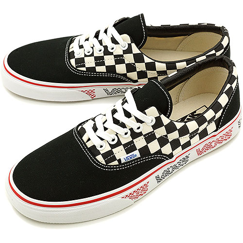 VANS vans sneakers CLASSICS ERA classical music gills (VAN DOREN) BLACK CHECKER  (VN-0VHQ8XJ SS14) 77e52933a7be