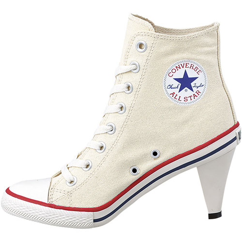 760a940c54a CONVERSE Converse sneakers ALL STAR HEEL HI all-stars heel high white  (32098160 SS14)