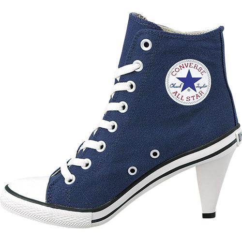 CONVERSE Converse sneakers ALL STAR HEEL HI all-stars heel high navy  (32098165 SS14)