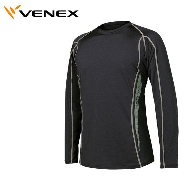 【即納】ベネクス リカバリーウェア メンズ VENEX リチャージロングスリーブシャツ 6402【コンビニ受取対応商品】