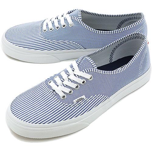 446a4be67312 Mischief Vans Sneakers Clics Authentic Clical. Vans Authentic Multi Stripes Dress  Blues True White