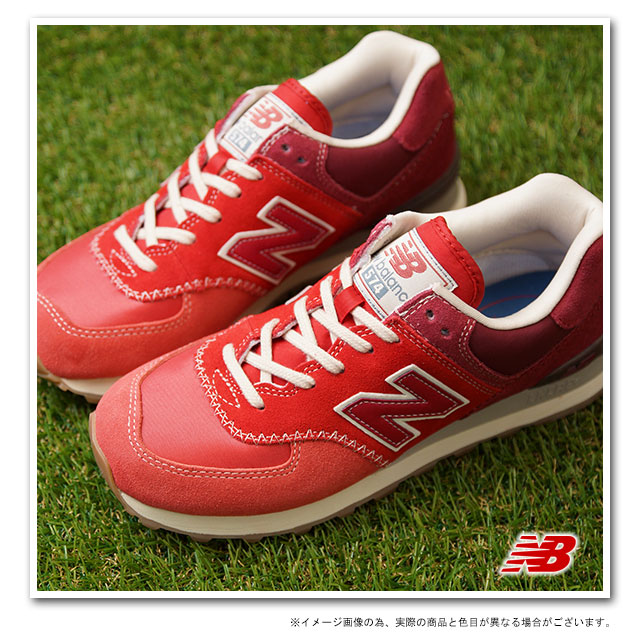 Great New Balance ML574RMA Mens  Womens Running Shoes Rednew balance shoeswide varieties