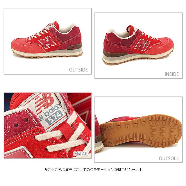 newbalance New Balance sneakers ML574 D Wise MAPLE LEAF (ML574RMA SS14)