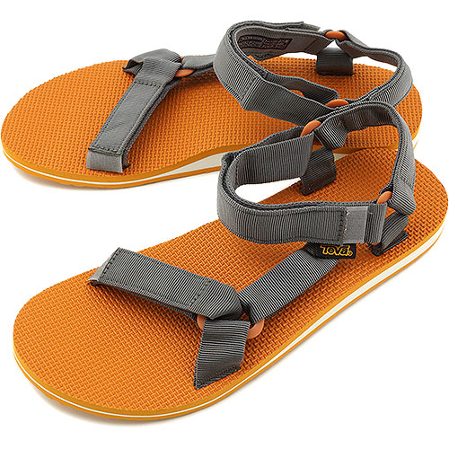 Teva Teva sandals men Original Universal original universal sports sandals GREY / ORANGE (1004006-GORN SS14)