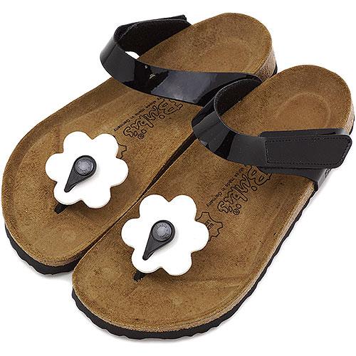 由勃肯女性 Birki 的比爾托芬奴涼鞋托菲諾 (專利) (BK103091 SS14) 黑色 /BIRKENSTOCK