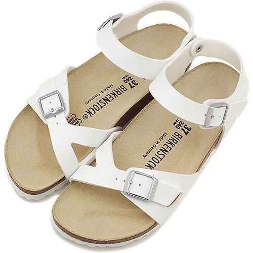 BIRKENSTOCK ビルケンシュトック レディース RIO サンダル 靴 リオ ホワイト ladies men's レデイース ビルケン・シュトック(031733/031731-CLASSIC)【コンビニ受取対応商品】