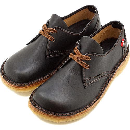 duck feet/DUNSKE ダックフィート/ダンスク DN330 シューズ BLACK 靴 【コンビニ受取対応商品】