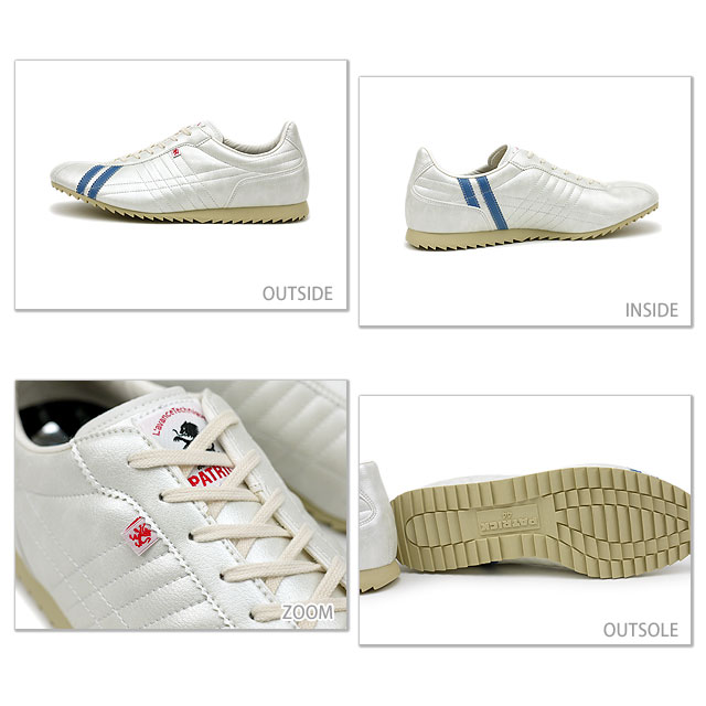 [Made in Japan] PATRICK sports shoes shoes SULLY white /skyblue