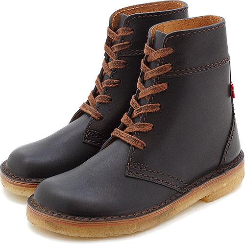 duck feet ダックフィート靴 (DUNSKE ダンスク) DN4600 レザーブーツ ブラック靴 (DN4600009 SS13)【コンビニ受取対応商品】