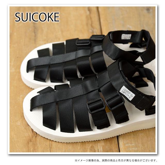 SUICOKE sicock 凉鞋小丑-V (vibram 鞋垫) 白 (SC00021 15 SS14)