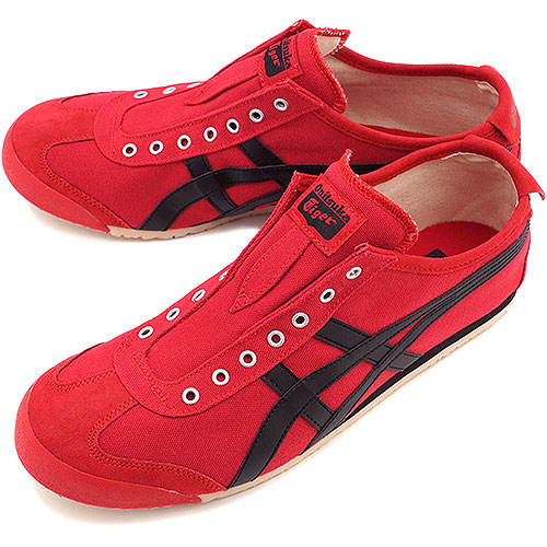 d755b594f6e8 Onitsuka Tiger Onitsuka tiger sneakers MEXICO 66 SLIP-ON Mexico 66 slip-on  red   black (TH3K0N-2390 FW14) OnitsukaTiger Onitsuka tiger