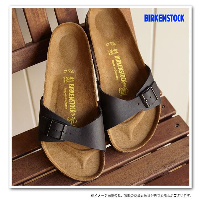 BIRKENSTOCK Birkenstock Womens mens MADRID Sandals Madrid black Dancewear for men ladies men's ladies BIRKEN STOCK birken-stuck (040793 / 040791-CLASSIC)
