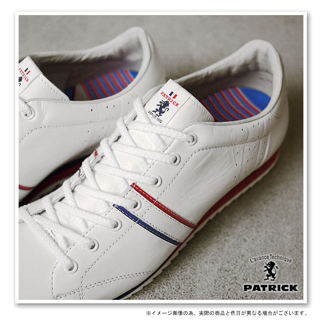 [Made in Japan] Patrick SneakerGSTAD White