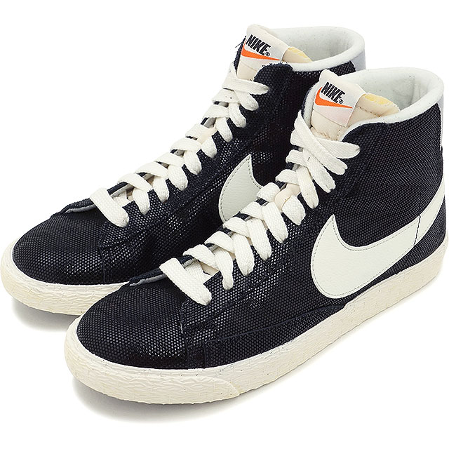 sale retailer 25f6b c5365 NIKE Nike Ladys sneakers shoes WMNS BLAZER MID VNTG ウィメンズブレーザー MID suede  VNTG black (518,171-009 SS15)