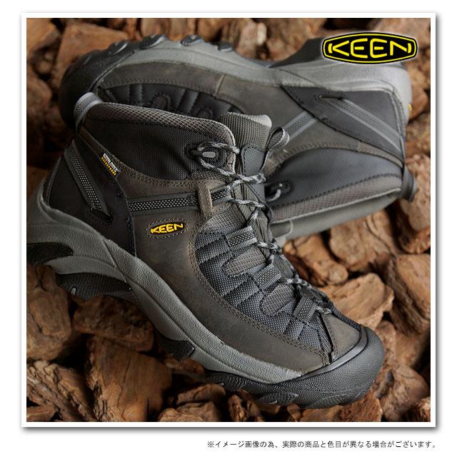 cd67d796b01 KEEN keen men's trekking shoes Targhee II Mid - TAC MNS Tagi 2 mid tack  mens Raven/Black ( 1012865 SS15 )