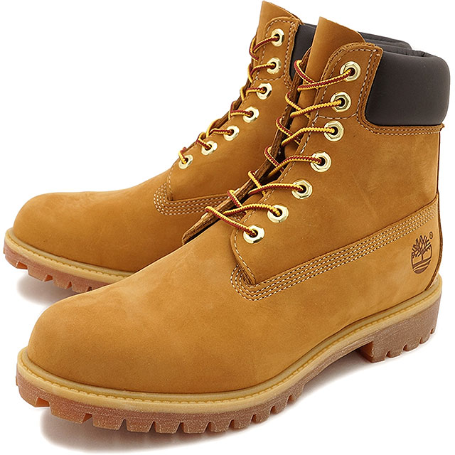timberland 6 inch wheat mens