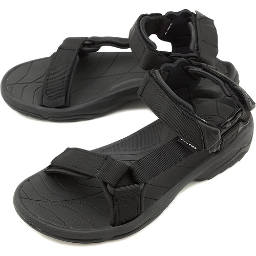86edfd498729 Teva Teva Sandals Terra Fi Lite Terra Fay Wright men s Sport Sandals BLACK  ( 1001473- ...